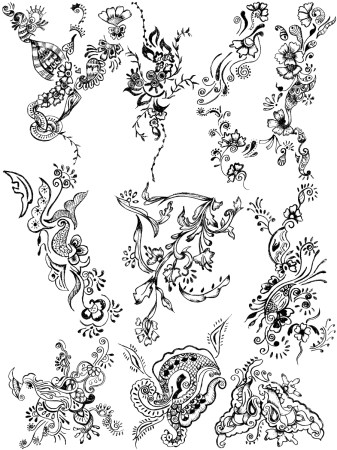 Sketchy Decorative Elements Vector and Photoshop Brush Pack-02
