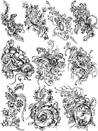 Sketchy Decorative Elements Vector and Photoshop Brush Pack-06