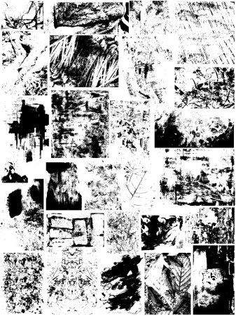 Grunge Texture Vector and Photoshop Brush Pack-03
