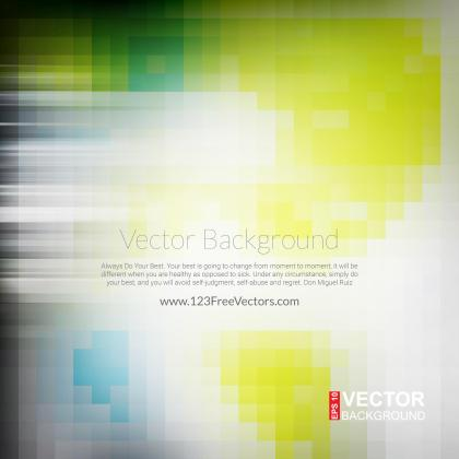 Yellow Green Square Shape Background