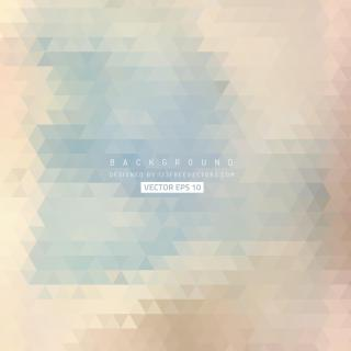 Beige Abstract Triangle Background