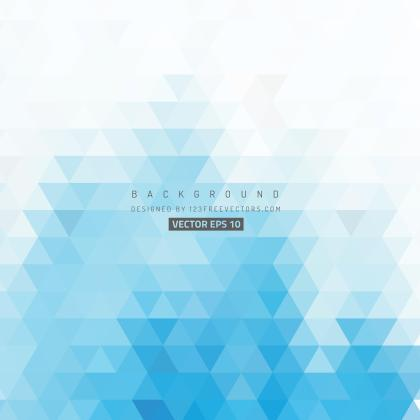 Light Blue Triangle Background Pattern