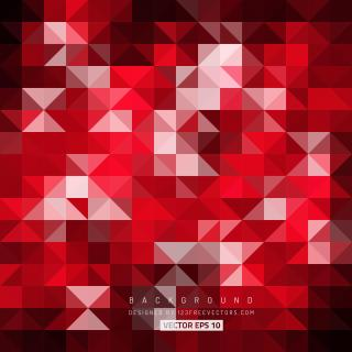 Dark Red Triangle Background Image