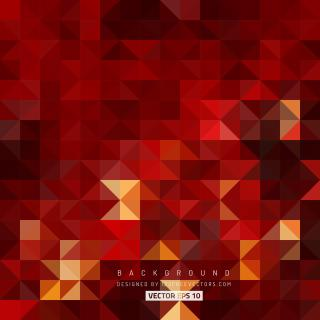 Dark Red Triangle Background Illustrator