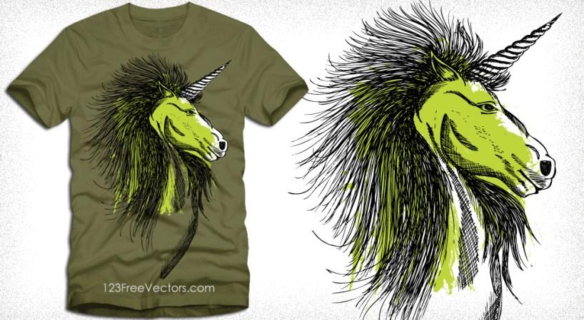Vector Horse T-Shirt Design Graphics