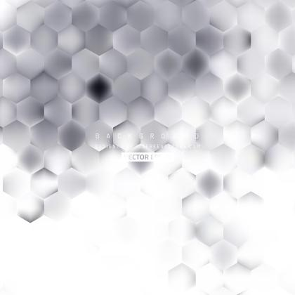 Light Gray Hexagonal Background Design