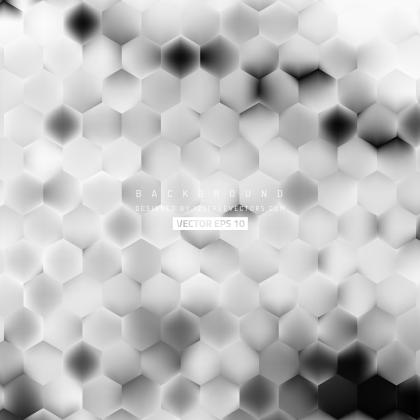 Light Gray Hexagon Background