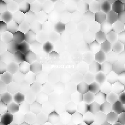 Light Gray Hexagon Geometric Background