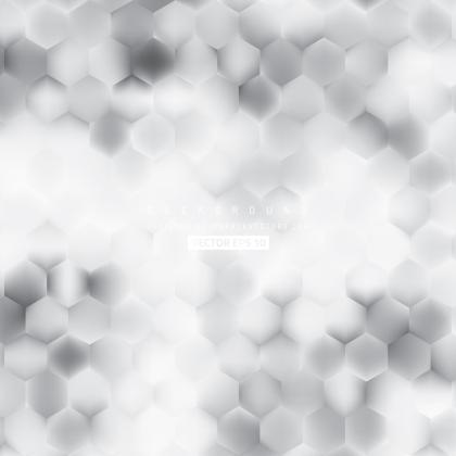 Light Gray Hexagon Background Pattern