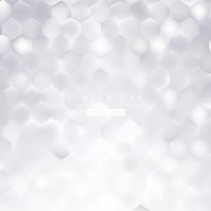 White Hexagonal Background Design