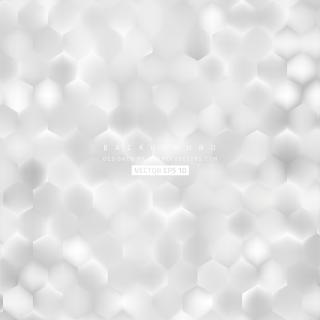 Abstract White Hexagonal Background Design