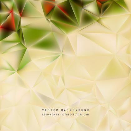 Beige Polygon Background