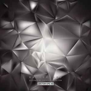 Dark Color Polygon Background Template