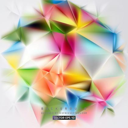 Light Color Polygon Triangle Background