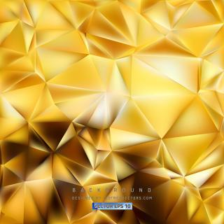 Orange Polygon Background Template