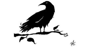 Crow Silhouettes Free Vector