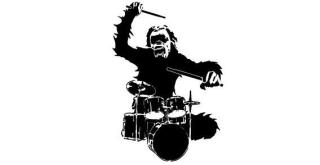 Chimpanzee Monkey Free Vector