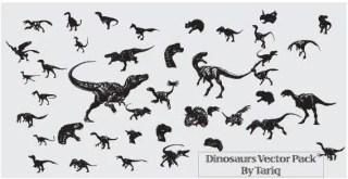 Dinosaurs Free Vector