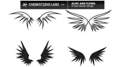 Wings Free Vector