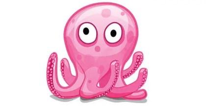 Octopus free vector