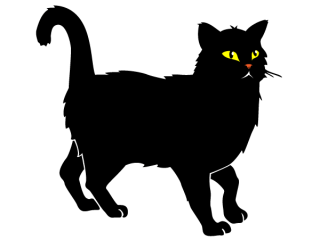 Black Cat Free Vector
