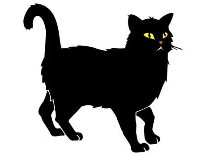 Black Cat Free Vector