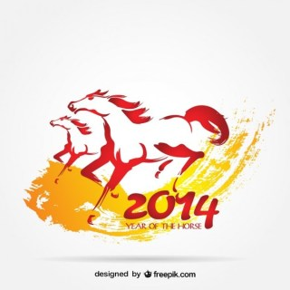 2014 Chinese Year Free Vector