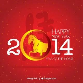 2014 Graphic Art Zodiac Free Vector