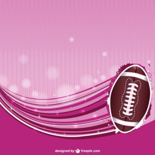 Abstract Background American Football Free Vector