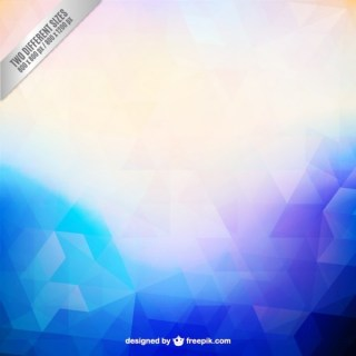 Abstract Background in Polygonal Style Free Vector