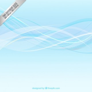 Abstract Background in Wavy Style Free Vector