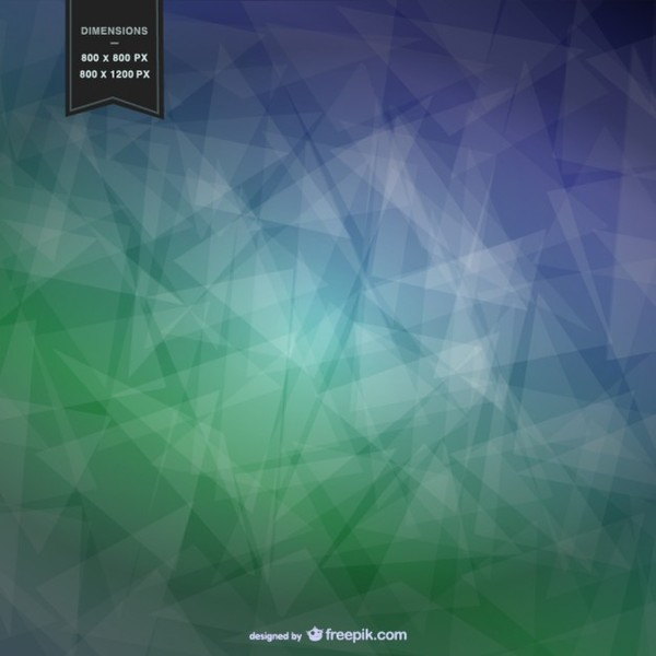 Abstract Background with Geometrical Shapes Free Vector
