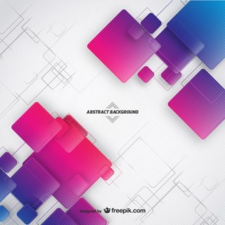 Abstract Background with Squares Free Vector