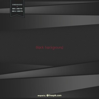 Abstract Black Background Free Vector
