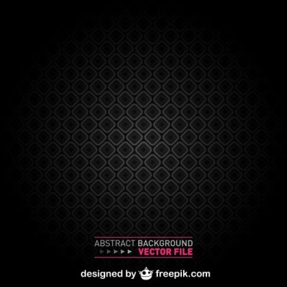 Abstract Black Geometric Background Free Vector