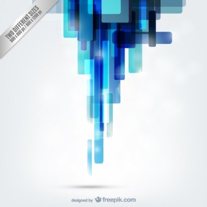 Abstract Blue and White Background Free Vector
