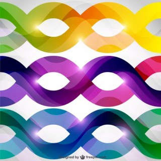 Abstract Colorful Shapes Background Free Vector