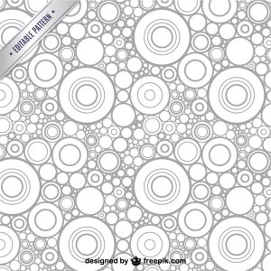 Abstract Concentric Pattern Free Vector