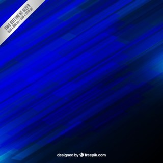 Abstract Electric Blue Background Free Vector