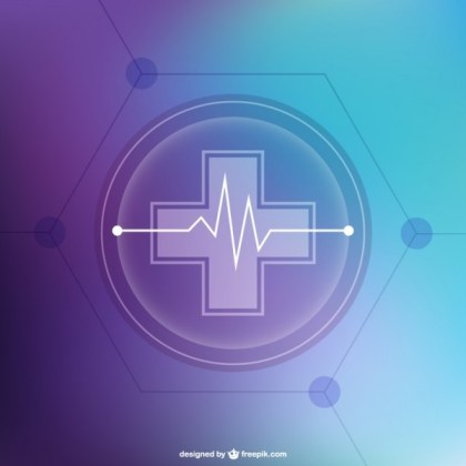 Abstract Free Medical Background Free Vector