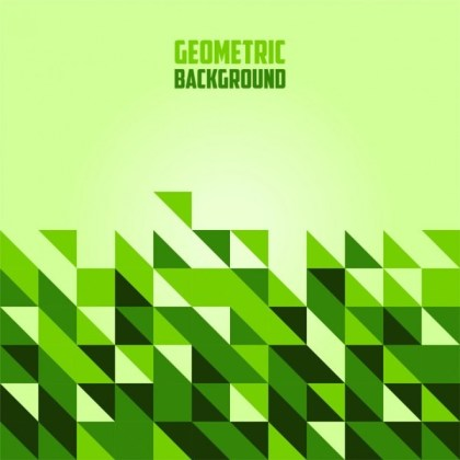 Abstract Geometric Shapes Free Vector