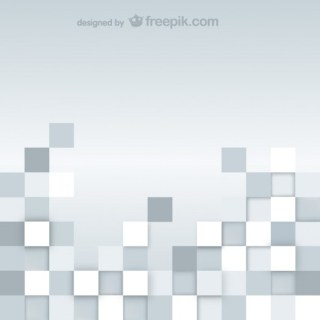 Abstract Grey Squares Background Free Vector