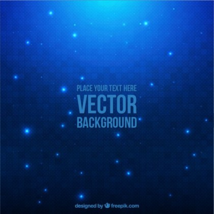 Abstract Lights Background Free Vector