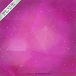 Abstract Magenta Polygonal Background Free Vector