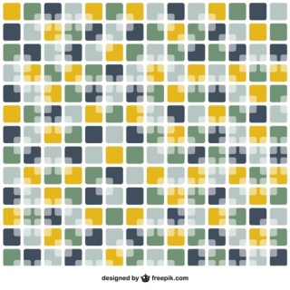 Abstract Mosaic Pattern Free Vector