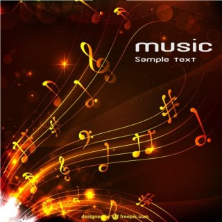 Abstract Music Background Free for Download Free Vector