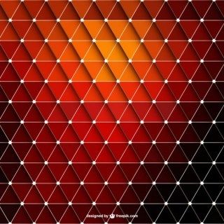 Abstract Red Triangle Background Free Vector