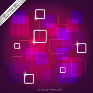 Abstract Squares Background Free Vector