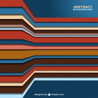 Abstract Stripes Design Free Vector