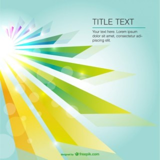 Abstract Sun Light Background Free Vector